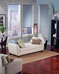 "Mini Window Blinds NYC | Mini Blinds for Windows NYC | Mini Blinds NYC by Royal Window Treatments; (212) 473-1111; 180 Lexington Ave, 2nd Fl New York, New York 10016 Smaller slats 1"" - 1  1/2""  for tinier windows"