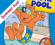Jumping Into the Pool (Herbster Readers First Day of School: Level Cecilia Minden, Child's World First Day Of School, Summer Fun, Audio Books, Childrens Books, Good Books, Illustration, Level 3, Fictional Characters, Israel