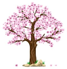 Super ideas for sakura tree png Cherry Blossom Tree, Blossom Trees, Cherry Tree, Tree Branch Tattoo, Sakura Bloom, Tree Clipart, Tree Templates, Pink Trees, Spring Tree
