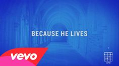 Matt Maher - Because He Lives (Amen) [Official Lyric Video] Includes guitar cords.