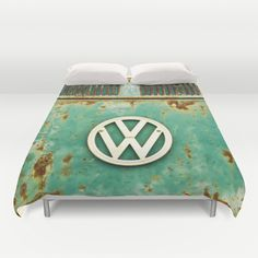 VW+Retro+Duvet+Cover+by+Alice+Gosling+-+$99.00