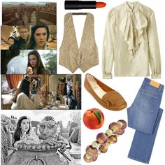 Sarah - Labyrinth by i80s on Polyvore featuring DAY Birger et Mikkelsen, Acne Studios, Antica Murrina, 80s, movie and labyrinth