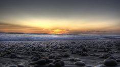 Lava rocks at the beach