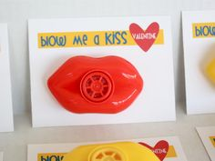 At Second Street: blow me a kiss {valentine} with free printable