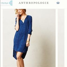 The Odell's dress Navy stonewashedprice firm. No offers Anthropologie Dresses