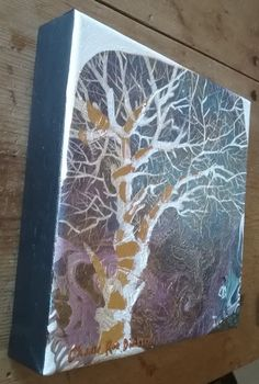 """Paintings - FREE COURIER --- """"STAR GAZERS"""" Original Painting by KAROO Artist, Cherie Roe Dirksen 200x200x40 for sale in Barrydale (ID:450662775) Original Paintings, Original Art, South African Artists, Tree Silhouette, Art Series, Kinds Of Music, Art Auction, Stargazing, The Originals"""