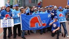 Jan.08 2016 - Quebec City NHL fans,as the NHL discuss exspansions The Canadian Press