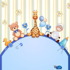 Buy Baby Shower Card with Toys by loradora on GraphicRiver. Baby shower card with toys. File saved in EPS 10 format contains outlined text and transparency effect. Baby Shawer, Baby Kind, Baby Toys, Baby Shower Cards, Baby Cards, Shower Baby, Dibujos Baby Shower, Watercolor Card, Scrapbook Bebe