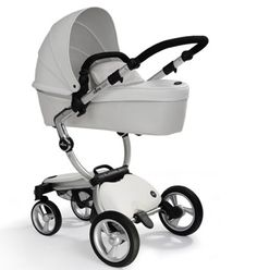 Not sure how practical the white is but......Bugaboo Stroller.