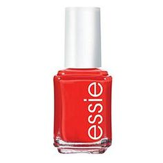 "One of Christie Reid's picks for her Friends & Family wish list: ""essie nail color polish, geranium - Love this color for summer!"""
