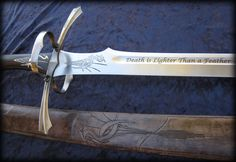 Heron's Flight - Warders' Heron Mark Sword