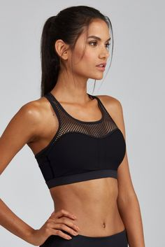 The Juliet Bra is sexy and flattering. Mesh insets provide ventilation and a high fashion look. Versatile and functional. - Can be worn with / without cups (cups not included) - Fully lined - Great Su