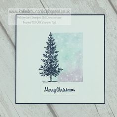 Katie Drew: 12 days of Christmas - Eleven - stamparatus 2 Christmas Tree Cards, 12 Days Of Christmas, Christmas Crafts, Merry Christmas, Xmas, Blender Pen, Card Making Tutorials, Ink Pads, Cardmaking
