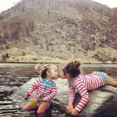best girl camping swimsuit - take SwimZip swimwear to your favorite swimming hole
