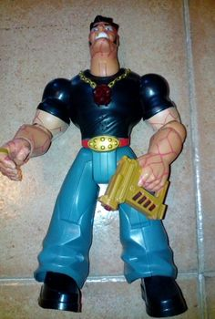 Figura articulada enemigo Action Man