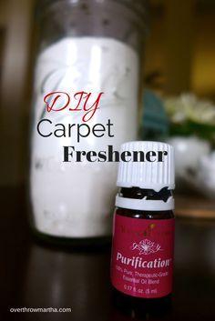 #DIY carpet freshener #easy #greencleaning