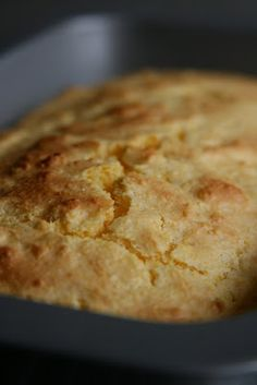 Amish Sour Cream Corn Bread. A delicious, easy bread.
