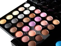 MAC eyeshadow pallet.  So many pretty colors, goes on smooth and doesn't crease after a long day.