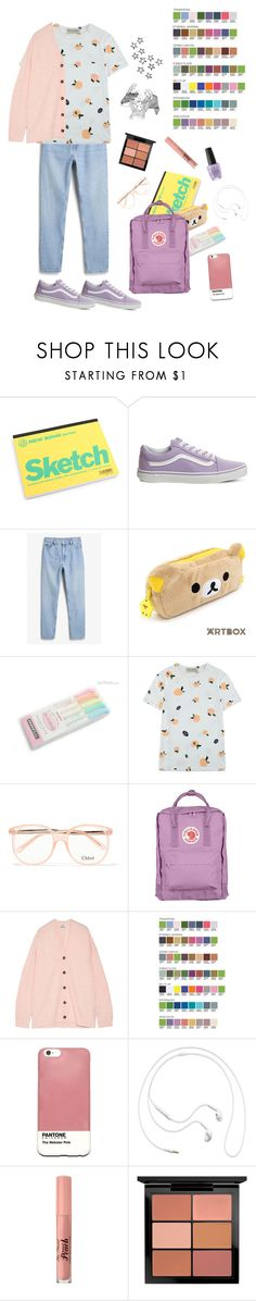 """""""Sting // Stellar"""" by owlenstar on Polyvore featuring Vans, Monki, Être Cécile, Chloé, Acne Studios, Case Scenario, Samsung, Too Faced Cosmetics, MAC Cosmetics and OPI"""