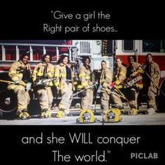 I miss being a firefighter sometimes. Female Firefighter Quotes, Firefighter Paramedic, Volunteer Firefighter, Firefighter Pictures, Firefighter Gifts, Firefighter Training, Firefighter Family, Wildland Firefighter, Fire Dept