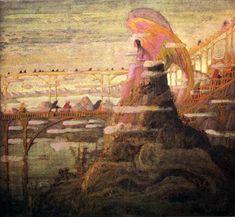 Prelude Of The Angels by Mikalojus Konstantinas Ciurlionis