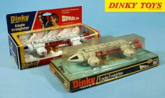 """DINKY TOYS' """"Space: 1999"""" Eagle Freighter from the 1970's."""