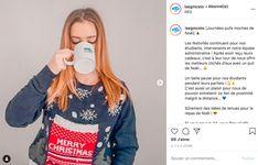 Journée du pull de Noël ISEG Toulouse Pulls, Graphic Sweatshirt, Sweatshirts, Sweaters, Fashion, Moda, Fashion Styles, Trainers, Sweater