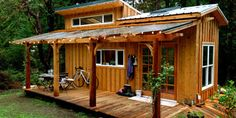 Possible to attach home to freestanding deck or pergola? The plexi roof is cool and love the patio doors.