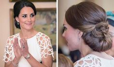 Get Kate Middleton's look for less: Ivory Lela Rose cocktail dress ...