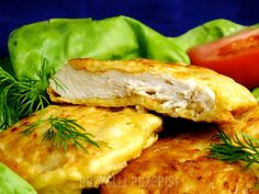 kurczak w serowej panierce Spanakopita, Chicken, Meat, Ethnic Recipes, Beef, Cubs