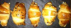 Voilà un amuse bouche original qui s'avale en une bouchée. Au choix, des mini croissants au jambon, au saumon fumé ou ricotta épinard…. ou les 3 !