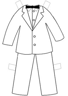 printable clothes templates | Paper Doll Project | 4 fun ...