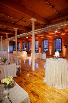 Winter wedding at Mill 1 in Holyoke along the canals.