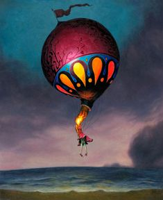 """""""Letting Go""""  by Esao Andrews."""