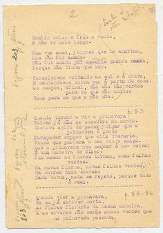 PESSOA, Fernando, 1888-1935 Se eu morrer novo, : [1º v.] / [Alberto Caeiro].- [1915 Nov. 7].- [2 de 7] p. em 4 f. ; 19,1 x 13 cm http://purl.pt/1000/1/alberto-caeiro/obras/bn-acpc-e-e3/bn-acpc-e-e3_item213/index.html