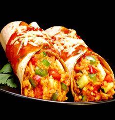 Vegetariska burritos