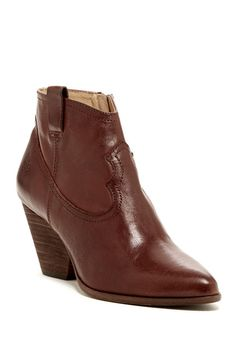 Reina Leather Bootie