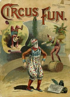Circus Fun, New York: McLoughlin Bros., c1890.
