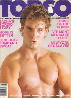 gay vintage magazine Hung porn