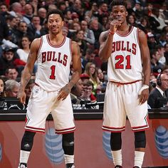 DRose  & Jimmy Butler  two Bulls in  Chicago