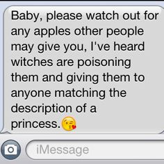 This is what my boyfriend decided to send me the other day. :)