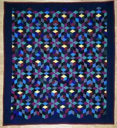 Amish Quilt... Knitting inspiration