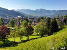 Reise-Fortbildung in Oberstaufen: Zum Allgäuer in drei Tagen. Teil 1