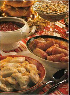 Ukrainian home cooked food!