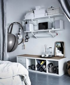 6 essential things from IKEA for your Home Gym