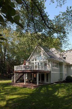 Basic...Oak Knoll Transformation traditional exterior