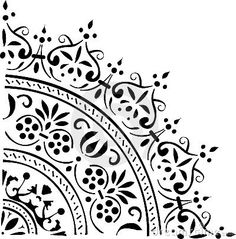 half circle design... This would make a beautiful tatt!