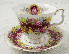 Royal Albert Celebration Tea Cup and Saucer