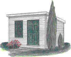 Free Slant Roof Shed Plans - Woodwork City