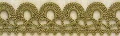 Patrón #1820: Terminacion a Crochet #crochet  http://blgs.co/5mwAF8